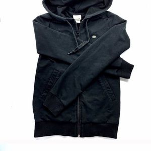 Lacoste Hoodie Full Zipper Front